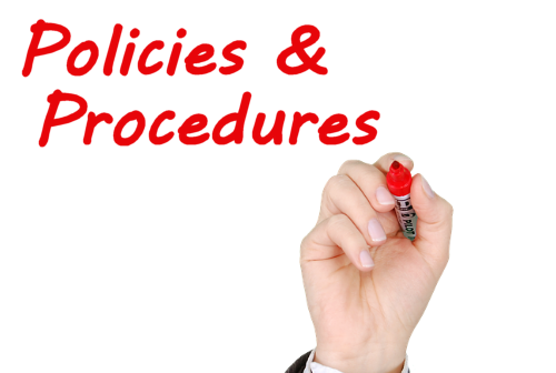 WFED Policies Procedures Page Banner
